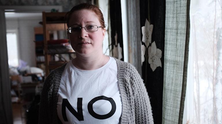 Åsa Lindstrand hoppas domstolen säger nej till ett slutförvar i Östhammar.