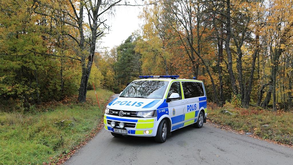 Polisinsats Ledinge Knivsta. Foto: Utryckning Uppsala