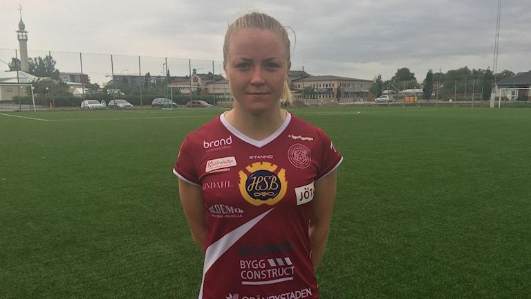 """Ingrid """"Ingo"""" Wixner, IK Uppsala Fotboll"""