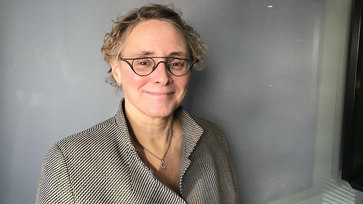 Annette Nylund, senioranalytiker på Arbetsmiljöverket