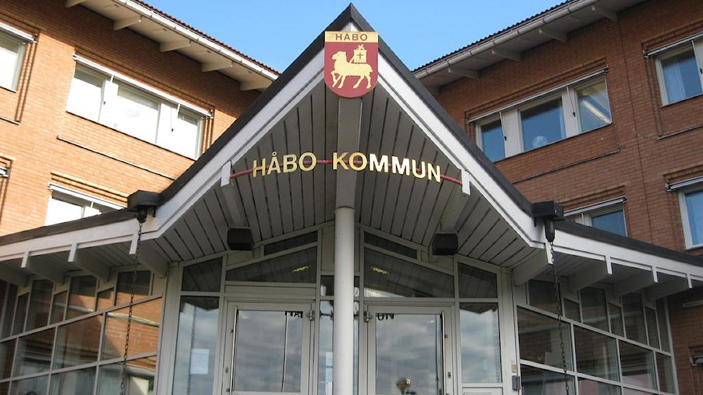 Håbo kommunhus. Foto Astrid Iselidh/SR.