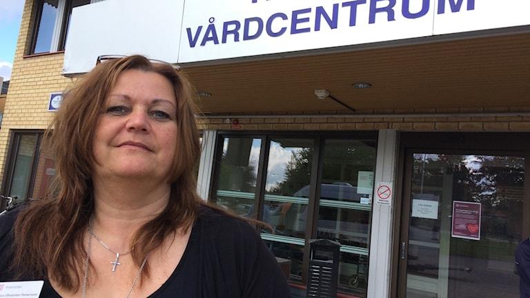 Monica Ulfsdotter Pettersson, chef Tierps Vårdcentrum.