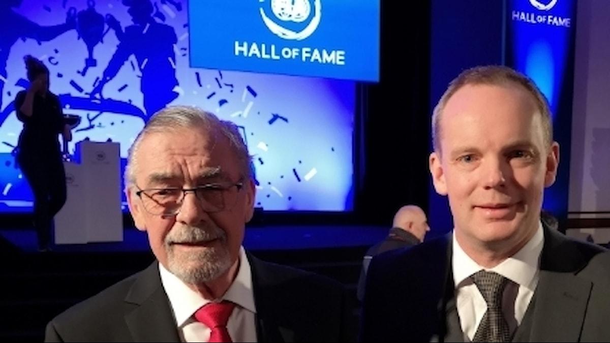 Hans Thorszelius och Mathias Waldegård