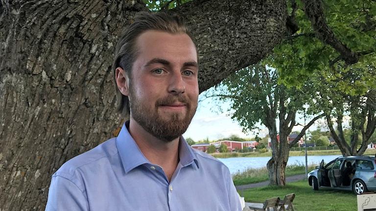 Martin Wahlsten, Sverigedemokraterna i Östhammars kommun.