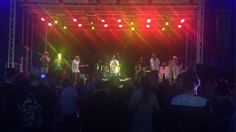 Löst Folk på Reggaefestivalen i Uppsala 2017