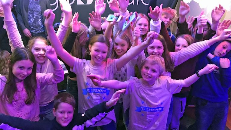 Malmaskolan 5A klar för final i Vi i femman 2018