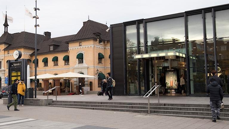 Uppsala resecentrum.