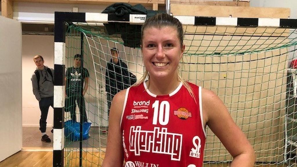 Amanda Tiveus Uppsala basket