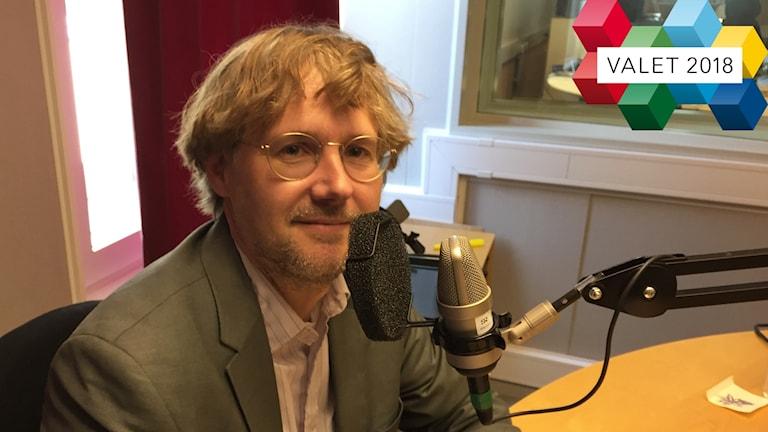 Niclas Malmberg är förstanamn i riksdagsvalet för Miljöpartiet i Uppsala län.