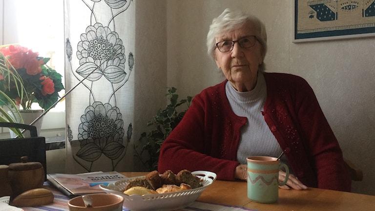 Mary Högberg, 91 år