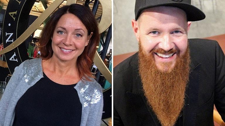 Pernilla Månsson Colt och Christer Lundberg