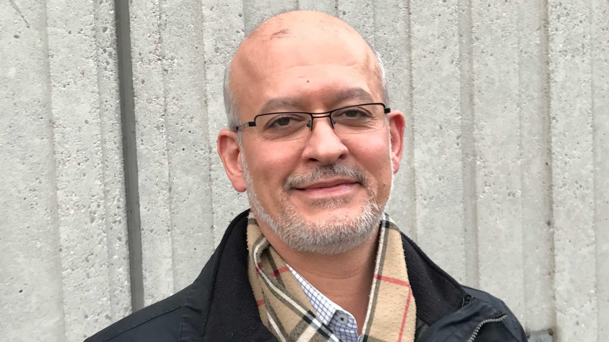 Mohammad Fazlhashemi - lärarvikarien