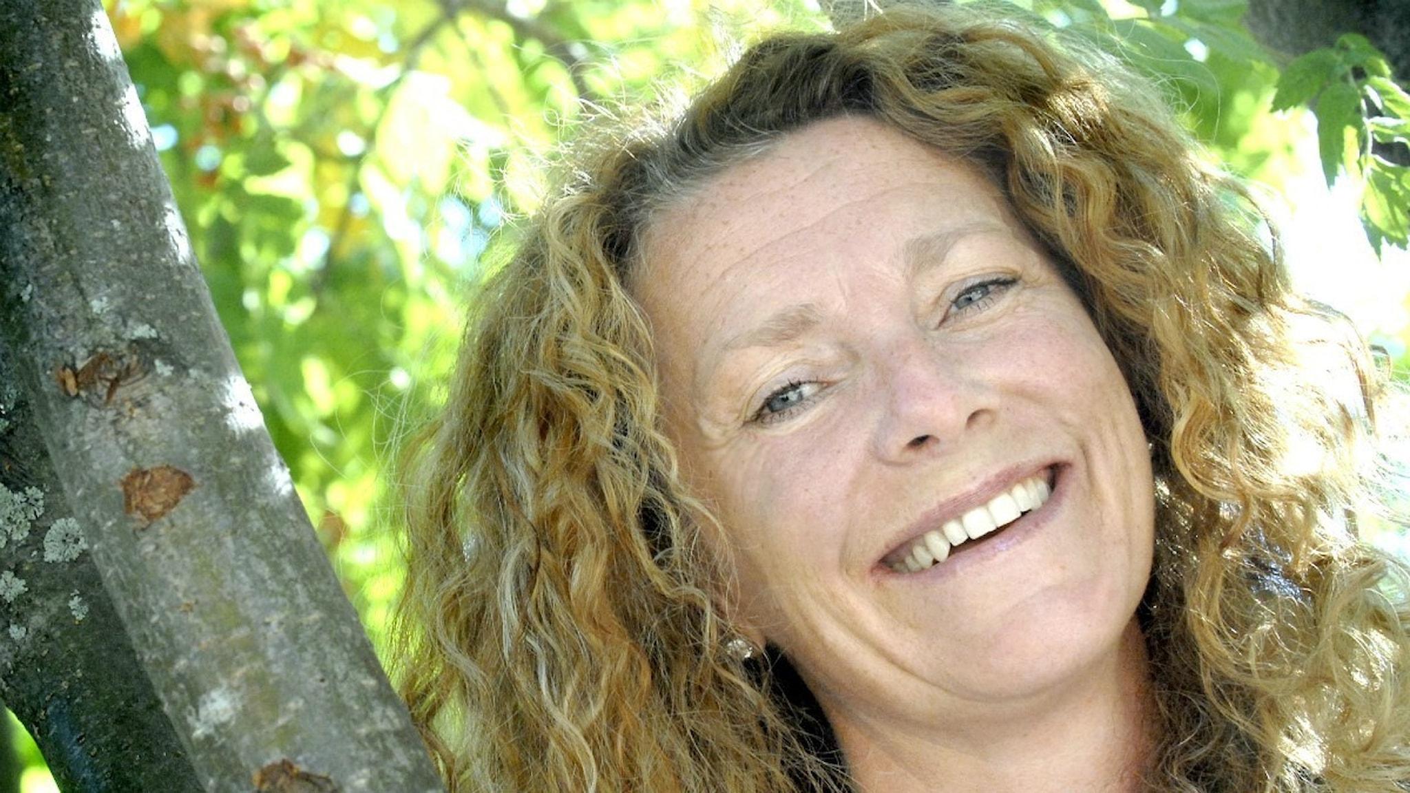 Marianne Söderberg, frilansskribent i Luleå. Foto: Eija Dunder