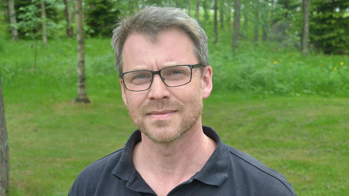 Martin Höög. Foto: Gunilla Nordlund, Sveriges Radio.