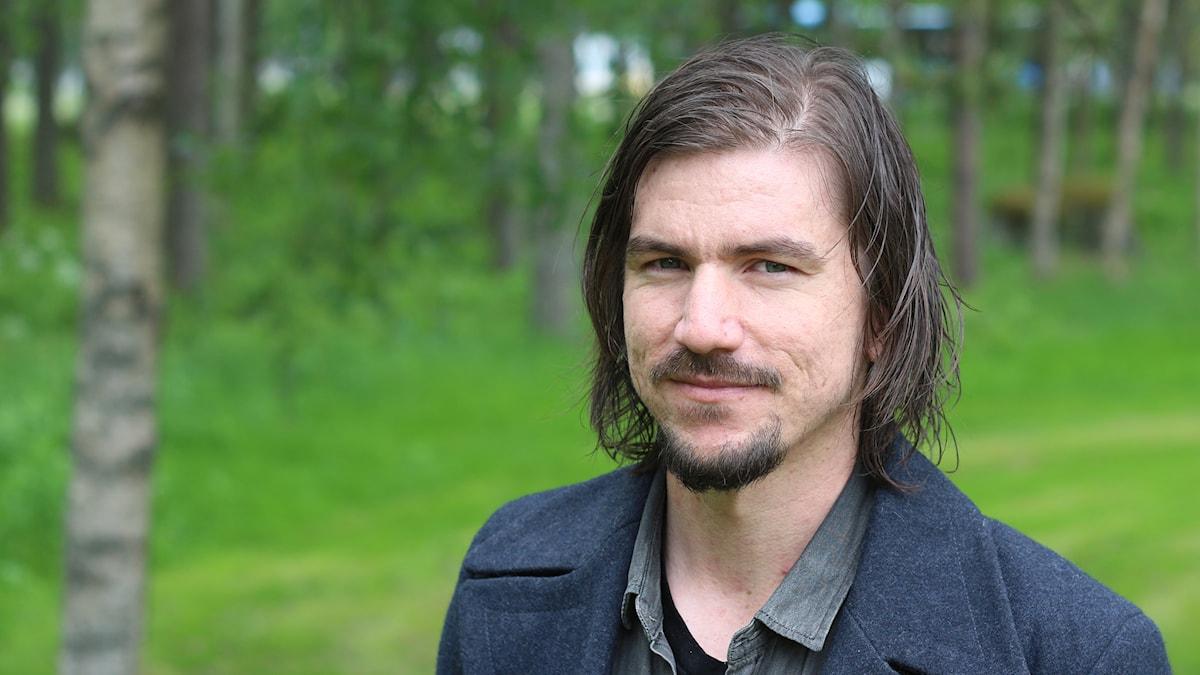 Robert Jansson. Foto: Helena Andersson, Sveriges Radio.