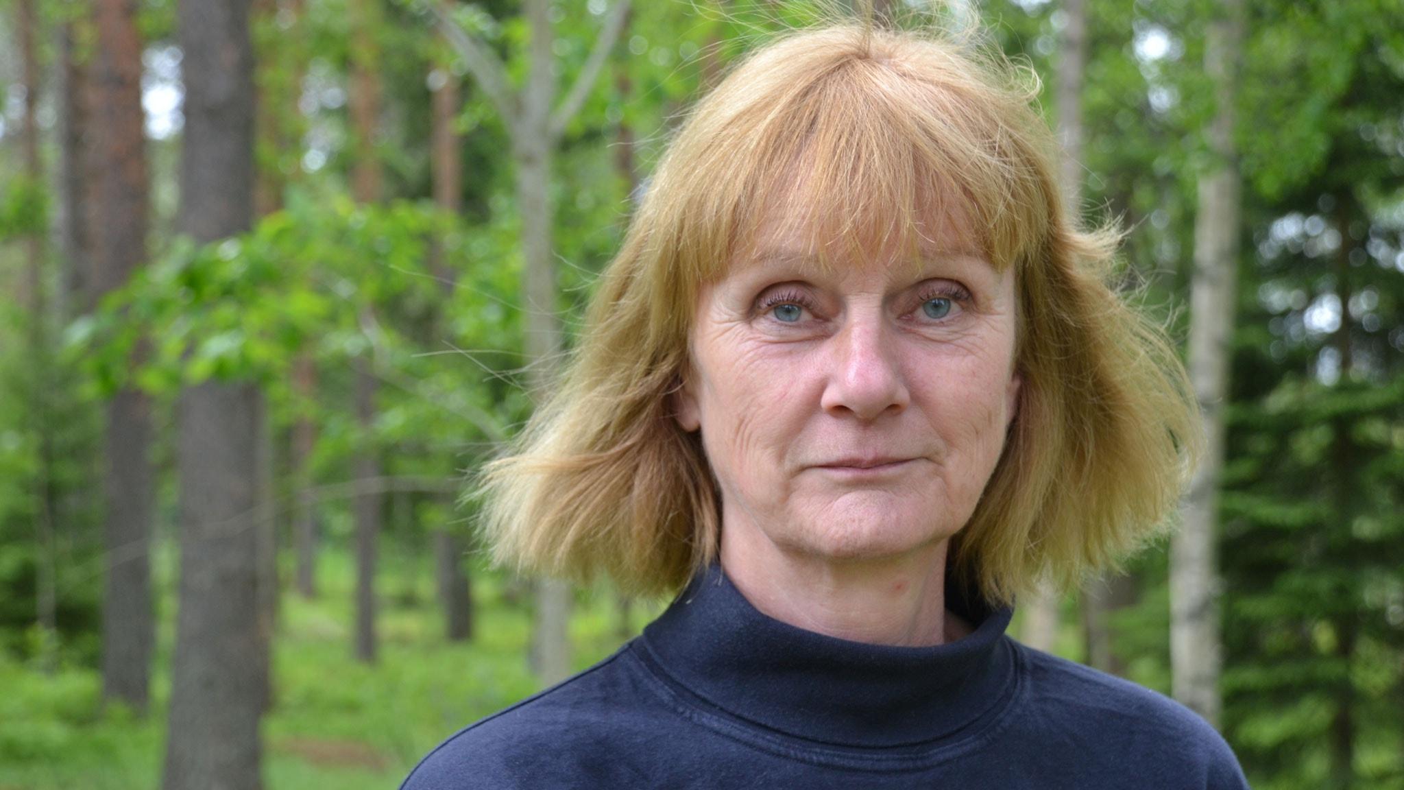 Birgitta Hübinette, polis. Foto: Gunilla Nordlund, Sveriges Radio