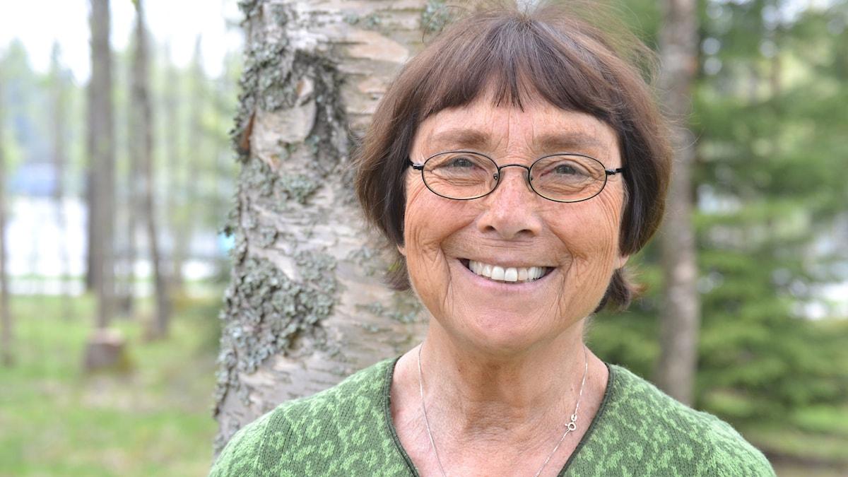 Lilian Levin, barnpsykolog. Foto: Gunilla Nordlund, Sveriges Radio.