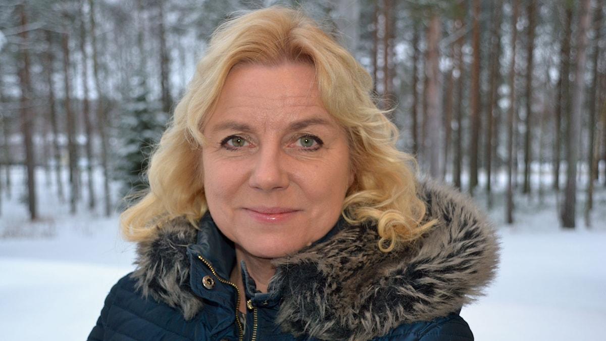 Solja Krapu-Kallio. Foto: Gunilla Nordlund/ SR