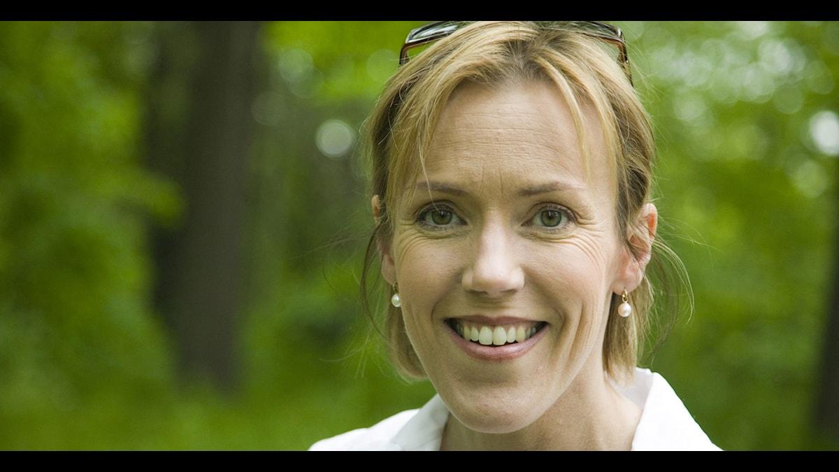 Åsa Larsson. Foto: Micke Grönberg/ Sveriges Radio