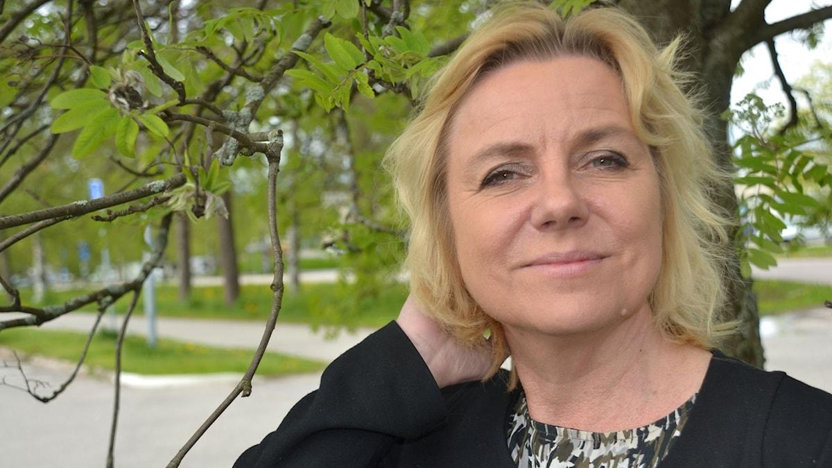 Solja Krapu-Kallio. Foto: Gunilla Nordlund/Sveriges Radio