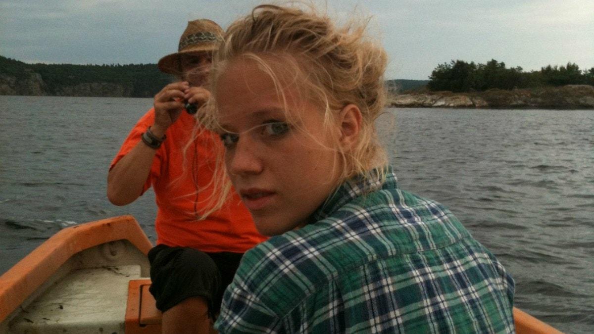 Olivia Bergdahl, författare och poet. Foto: Annica Carlsson Bergdahl