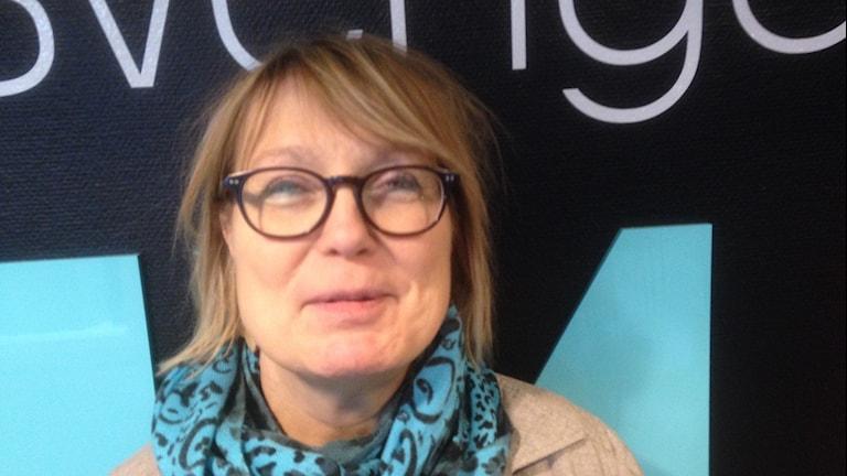 Monica Åslund, körledare och lärare i Luleå. Foto: SR/Anton Bennebrant