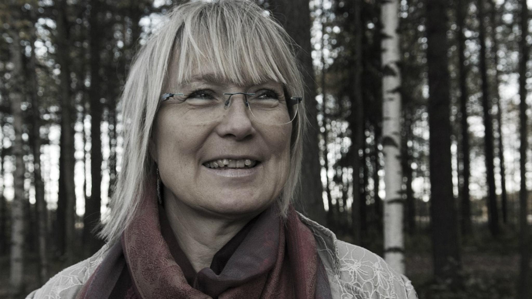 Monica Åslund är lärare och körledare i Luleå. Foto: Lena Lahti