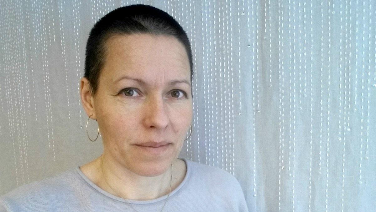 Victoria Andersson, textilkonstnär i Luleå. Foto: Privat