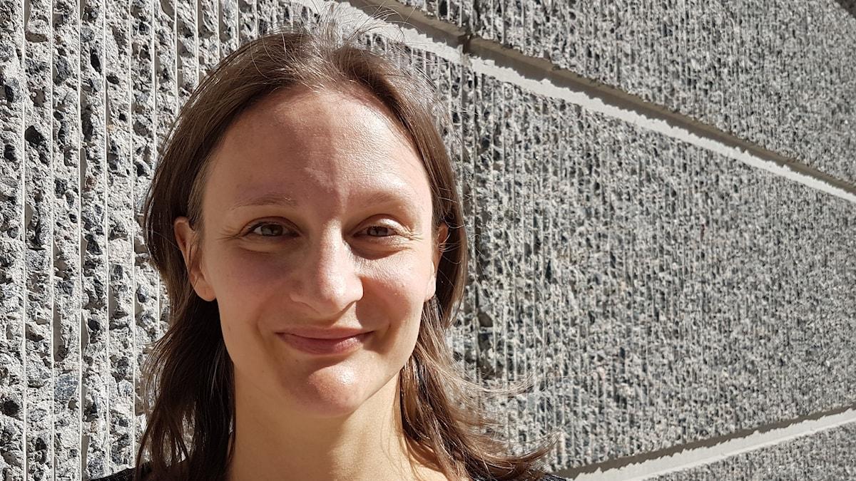Skådespelerskan Maja Runeberg