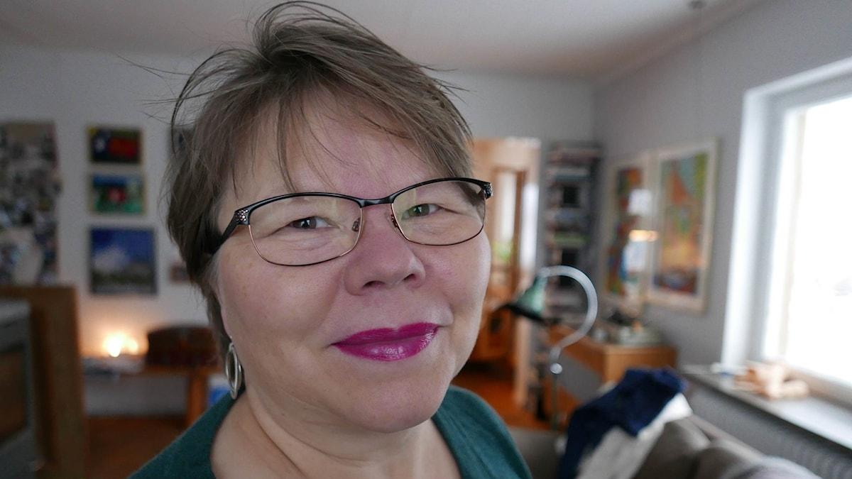 Bildkonstnären Katarina Pirak Sikku