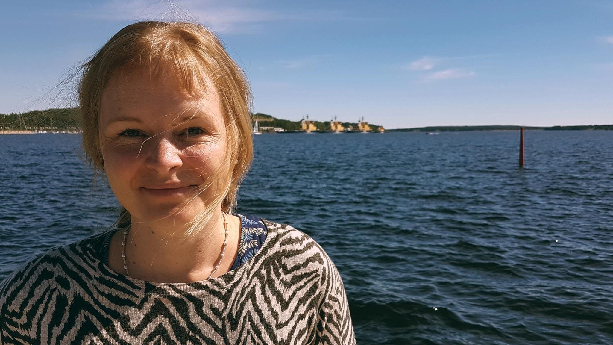 Martina Lundgren, grafisk designer i Luleå