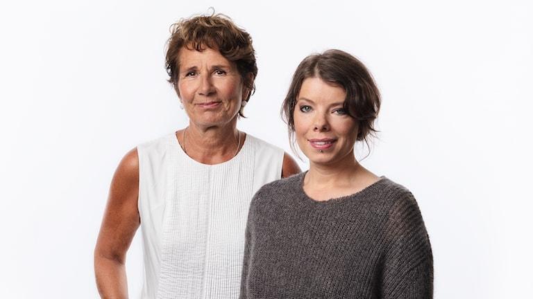 Sveriges Radios korrespondenter 2017 Alice Petrén (Migration) och Thella Johnson (Helsingfors) Ekot Sveriges Radio