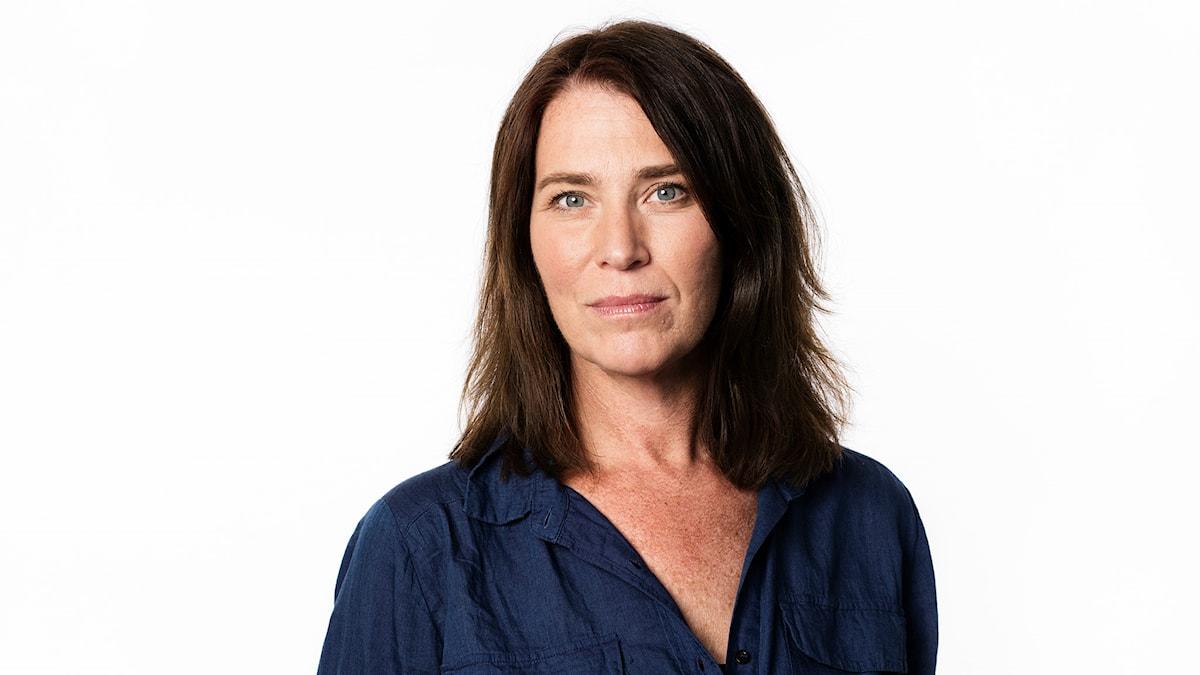 Margareta Svensson. Sveriges Radios korrespondent i Paris. Ekot Sveriges Radio.