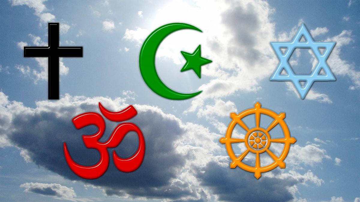 Morgonandakten  – De fem världsreligionerna