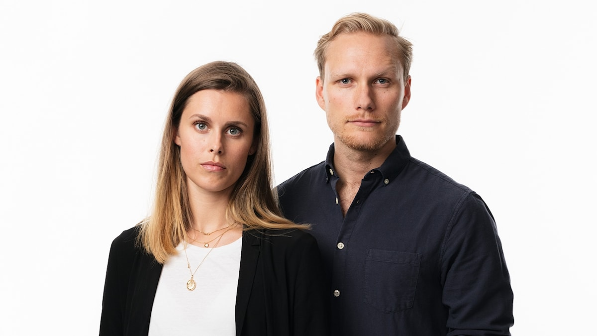 Liveteamet Alice Lööf och Olle Wiberg Ekot Sveriges Radio