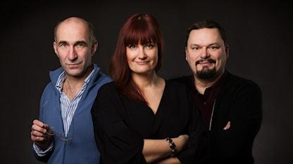 P1 Kultur Måns Hirschfeldt , Lisa Wall och Roger Wilson P1 Sveriges Radio