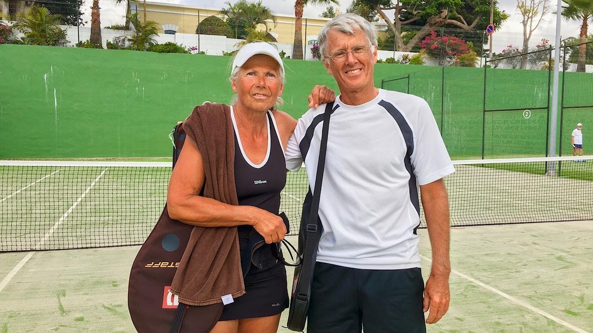 Det åldrande Europa För nypensionerade Ulrike och Heiner Glockner från Bayern i Tyskland är tennis och friluftsliv viktigt. Men de oroar sig för att det tyska pensionssystemet ska braka ihop. P1 Sveriges Radio