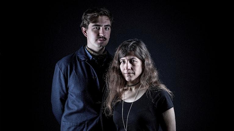 Jack Werner och Anna Davour. Foto: Micke Grönberg/Sveriges Radio