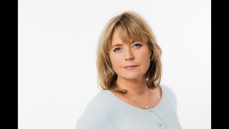 Cecilia Bodström. Sveriges Radio. foto: Mattias Ahlm/Sveriges Radio