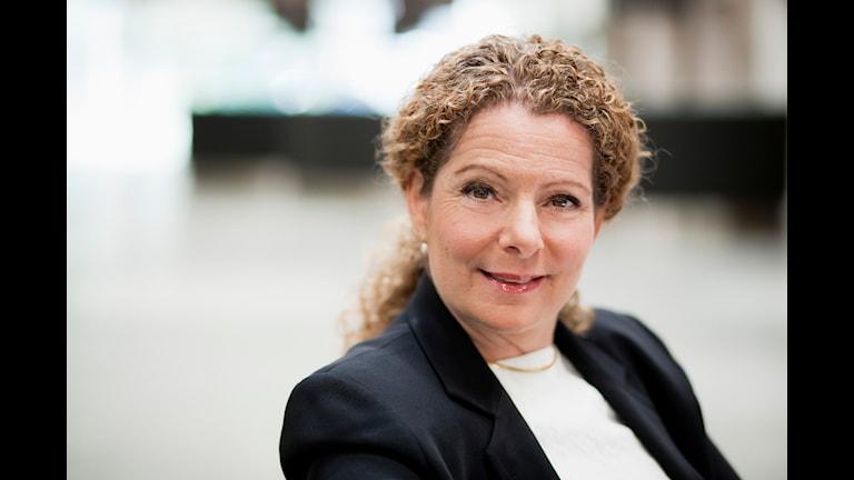 Cilla Benkö, vd för Sveriges Radio Foto: Björn Dalin