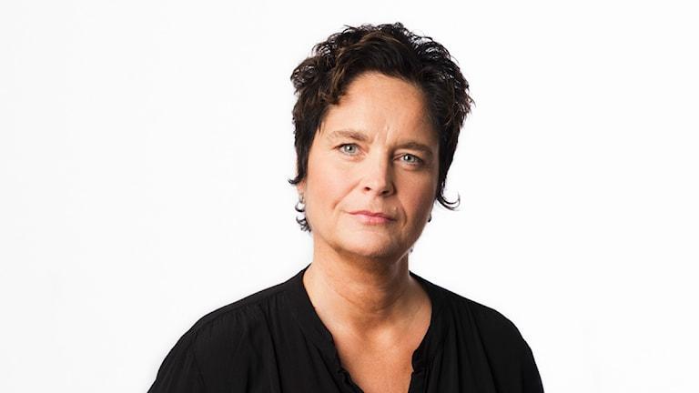 Agneta Furvik. Sveriges Radios korrespondent New York. Utrikeskorrespondent. foto: Mattias Ahlm/Sveriges Radio