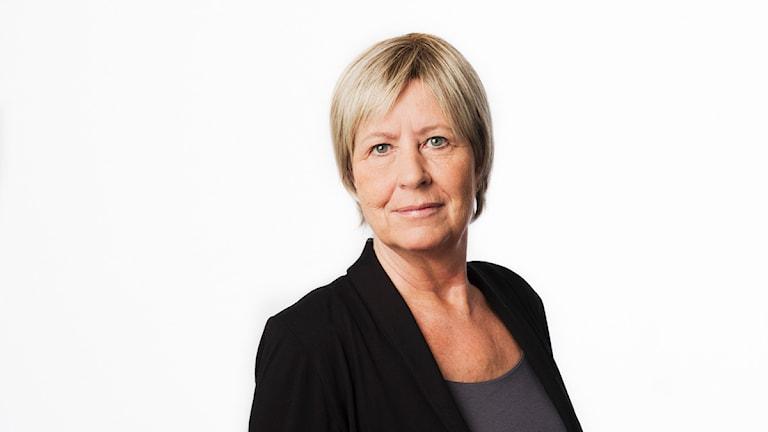 Agneta Ramberg. Sveriges Radio P1. foto: Mattias Ahlm/Sveriges Radio