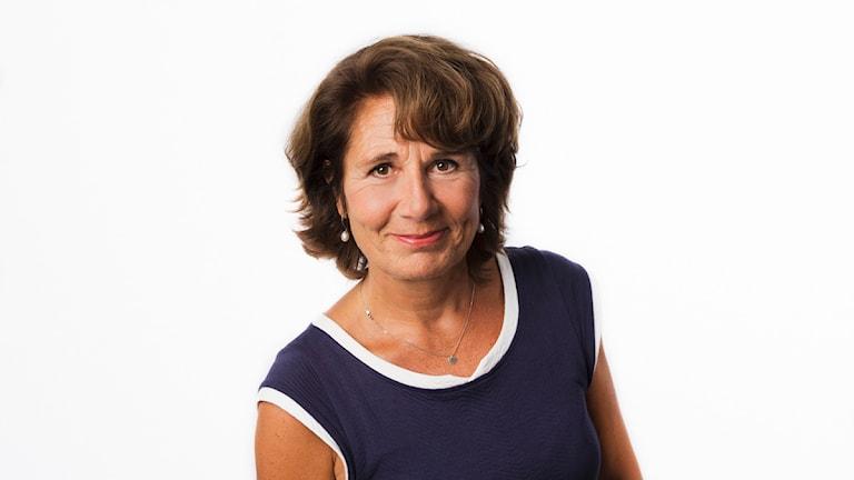 Alice Petrén. Sveriges Radios korrespondent Sydeuropa. Utrikeskorrespondent. foto: Mattias Ahlm/Sveriges Radio