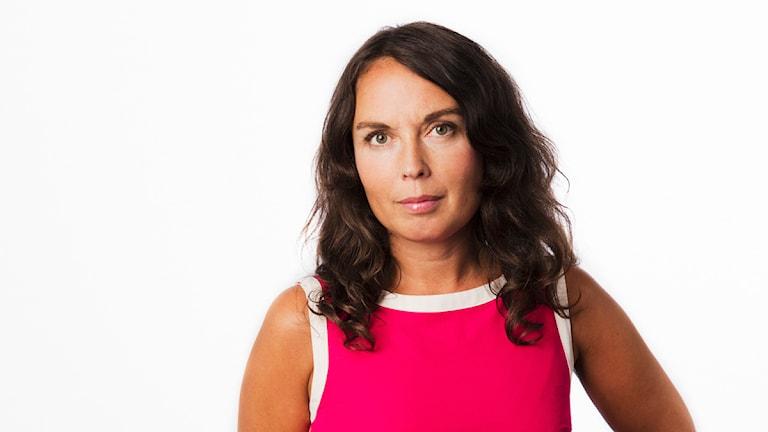 Jenny Sanner Roosqvist. Sveriges Radios korrespondent Norden och Baltikum. Utrikeskorrespondent. foto: Mattias Ahlm/Sveriges Radio