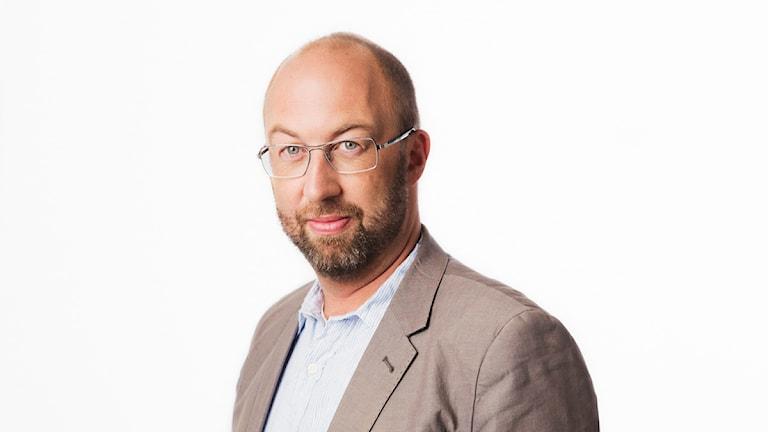 Jens Möller. Sveriges Radios korrespondent Bryssel. Utrikeskorrespondent. foto: Mattias Ahlm/Sveriges Radio