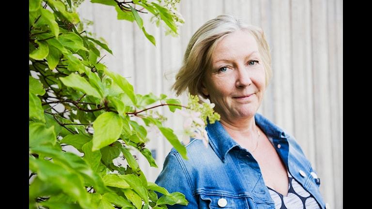 Tithi Hahn. Människor och tro. Sveriges Radio P1. foto: Mattias Ahlm/Sveriges Radio