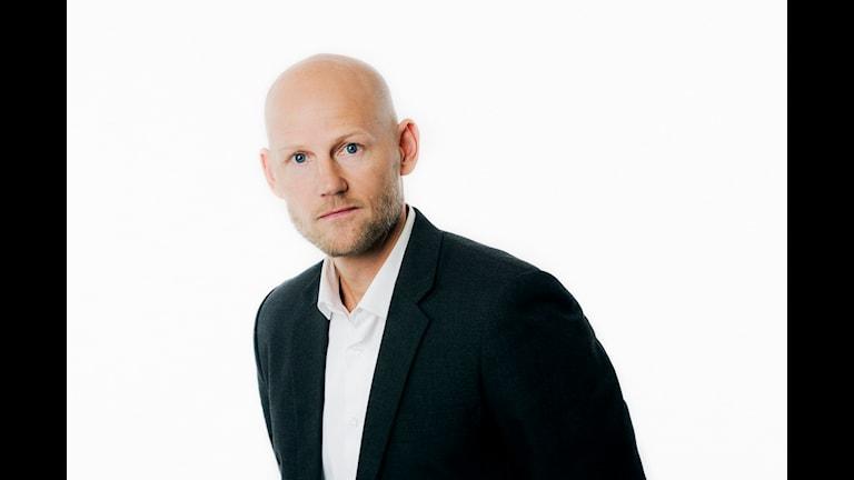 Jörgen Huitfeldt. Sveriges Radio P1. foto: Mattias Ahlm/Sveriges Radio