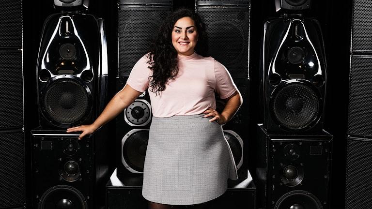 Musikguiden i P3. Tina Mehrafzoon.