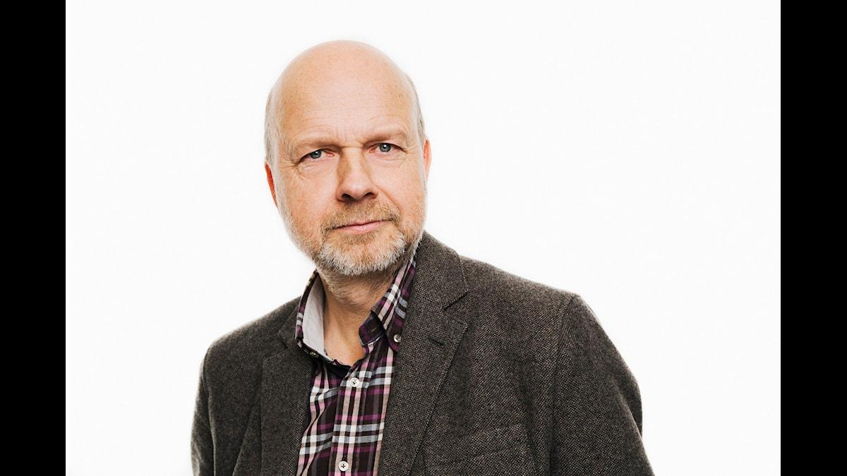 Kritikerprogrammet. Gunnar Bolin. Sveriges Radio P1. foto: Mattias Ahlm/Sveriges Radio