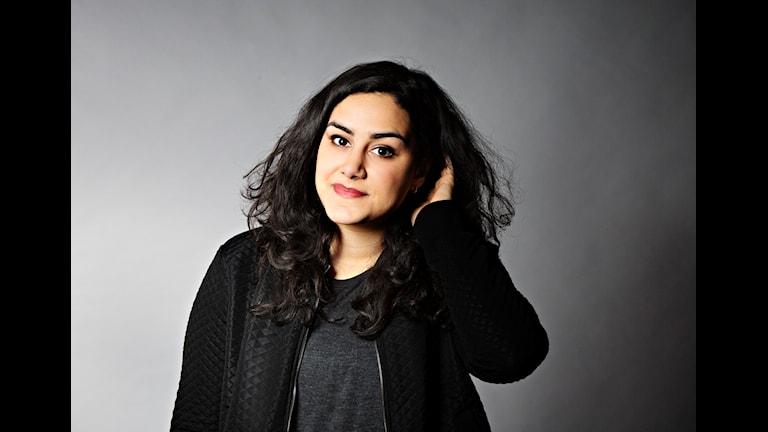Musikguiden. Tina Mehrafzoon. Foto: Martina Holmberg.